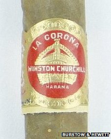 Unsmoked Winston Churchill cigar