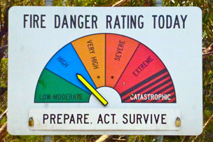 Fire threat indicator