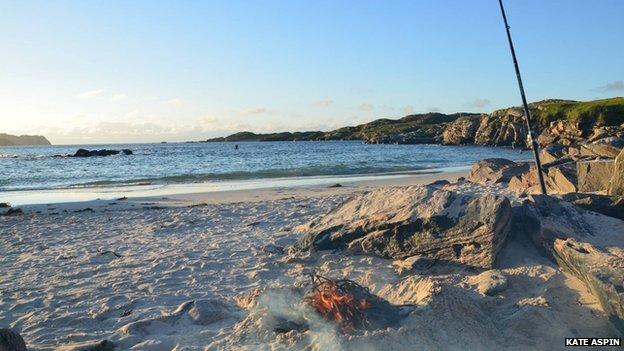 Bosta beach on Lewis