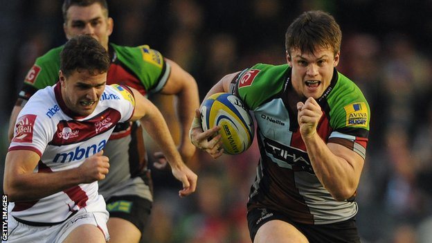 Jack Clifford of Harlequins (r)