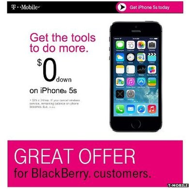 T-Mobile advert