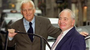 John Thaw and Colin Dexter