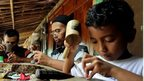 Craftsmen at the Wayan Village Resort