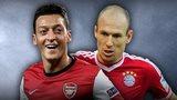 Mesut Ozil, Arjen Robben