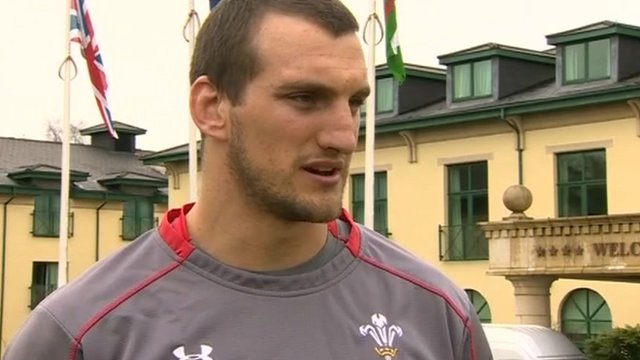 Sam Warburton looks ahead to the game against France