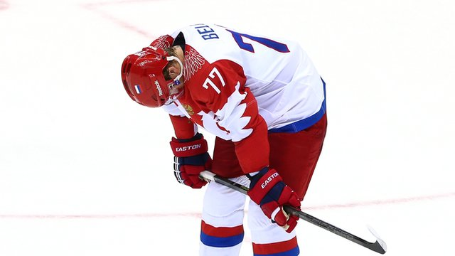 Russia player Anton Belov