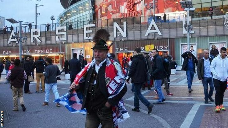 Bayern Munch fans