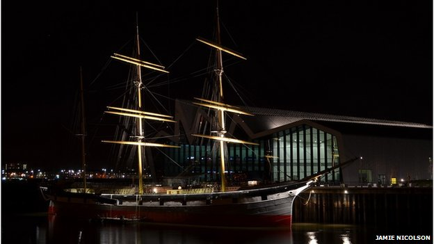 The Tall Ship is one of the venues for a pop-up cinema performance