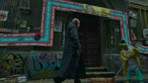 Gilliam's latest film is Zero Theorem
