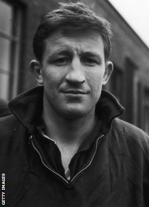 Jim Telfer pictured in 1965