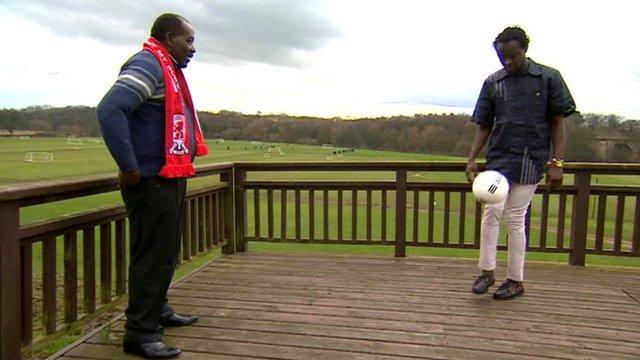 Patrick Jamiru and Kei Kamara