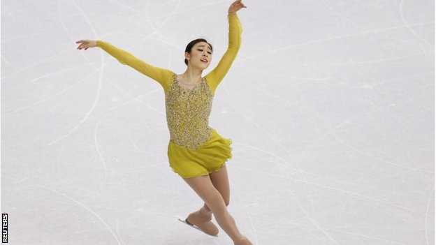 Yuna Kim of South Korea
