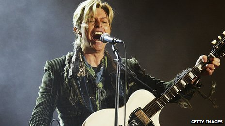 David Bowie pictured in 2004