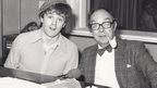 Brendan Kearney and Eric Morecambe