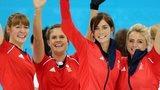 GB celebrate winning curling bronze