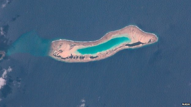 Nadikdik Atoll, also known as Knox Atoll