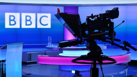 camera in bbc studio