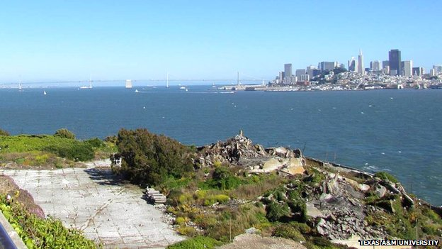 Alcatraz parade ground