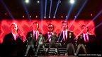 The Backstreet Boys perform at Palacio de Vistalegre in Madrid, Spain.