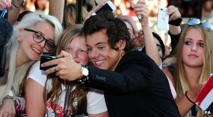 Harry Styles and fans