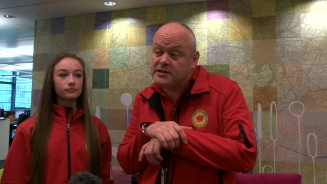 Adrian Meikle tells Ayshah how you can try curling