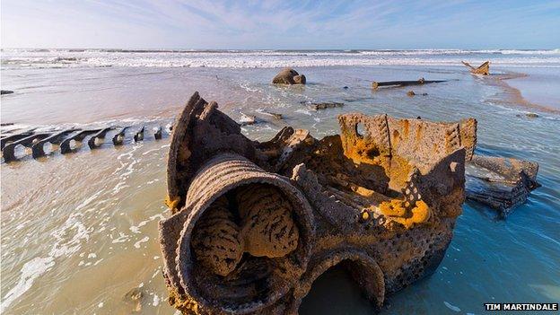 Wreck of Belem