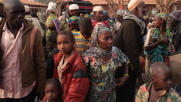 Muslims in CAR anxious to join a convoy heading to Cameroon