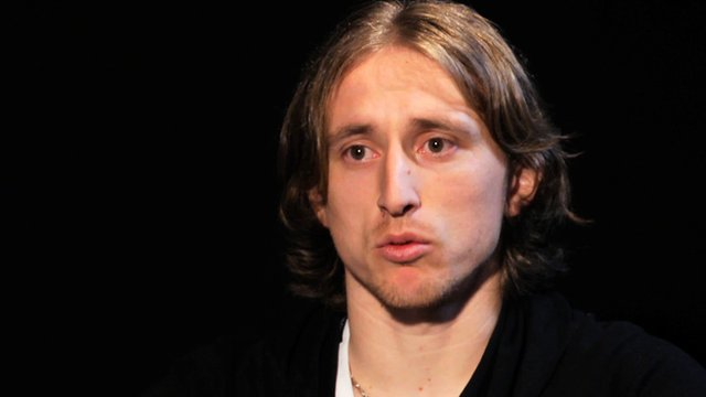 Real Madrid's Luca Modric