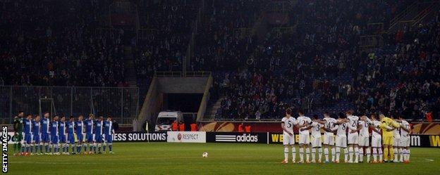 FC Dnipro v Tottenham