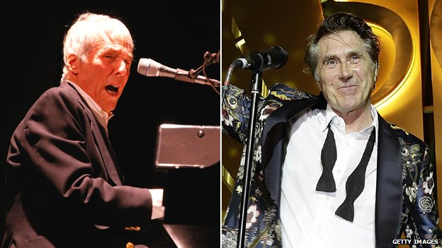 Burt Bacharach and Bryan Ferry