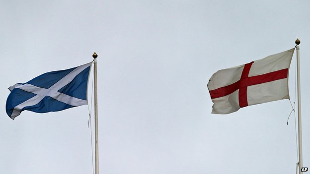 Saltire and Cross of St George