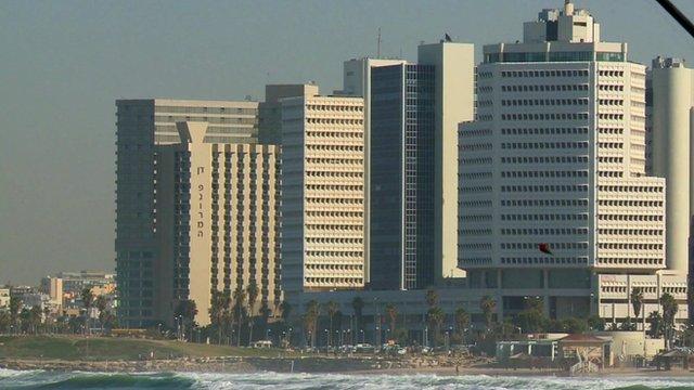Tall buildings in Tel Aviv