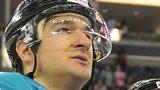 Jeffrey Szwez of the Belfast Giants