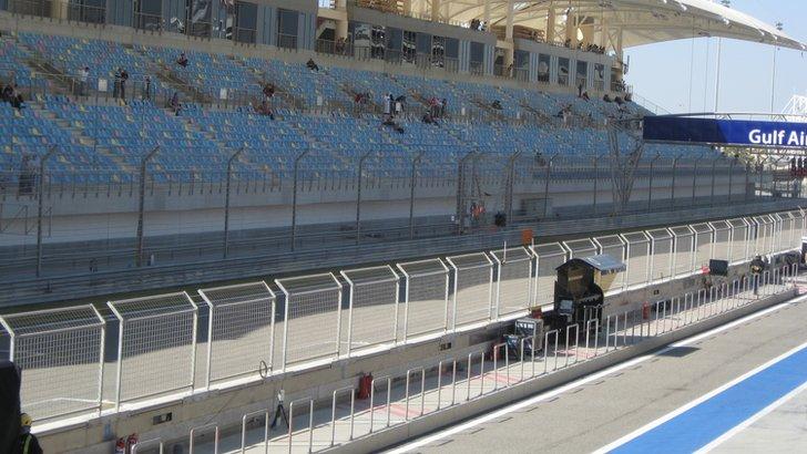 Bahrain main grandstand