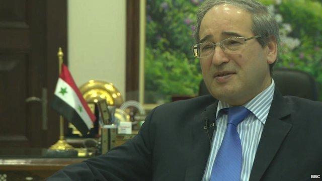 Syria Deputy Foreign Minister, Faisal Mekdad