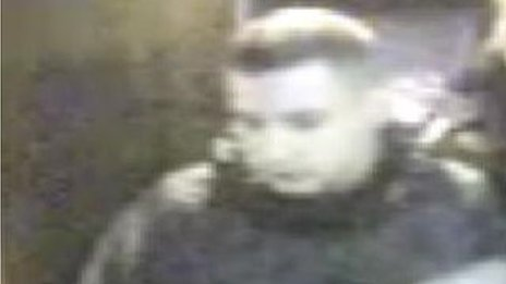 CCTV of man police want to trace