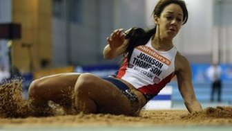 British athlete Katarina Johnson-Thompson