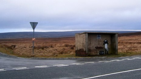 Commondale bus shelter