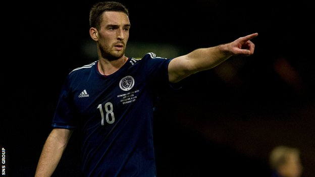 Rangers and Scotland full-back Lee Wallace