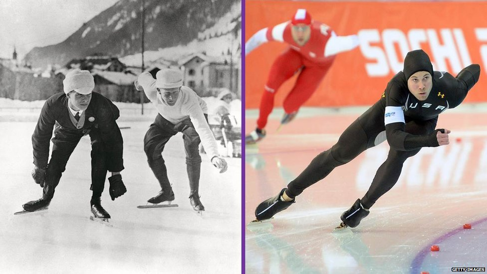 Olympics Then And Now Pictures Winter Olympics Then And