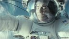 Sandra Bullock in a scene from Gravity