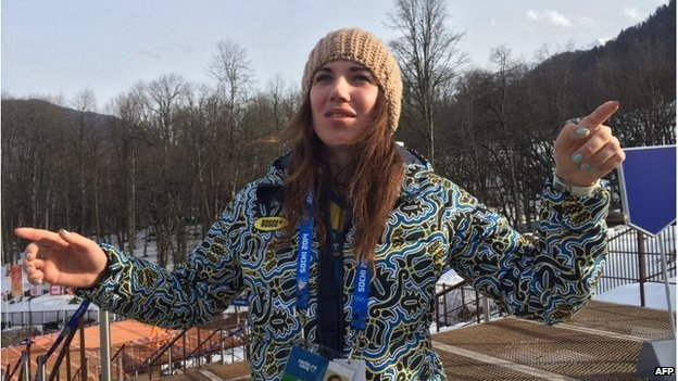 Ukrainian skier Bogdana Matsotska explains her decision to leave the Winter Olympics