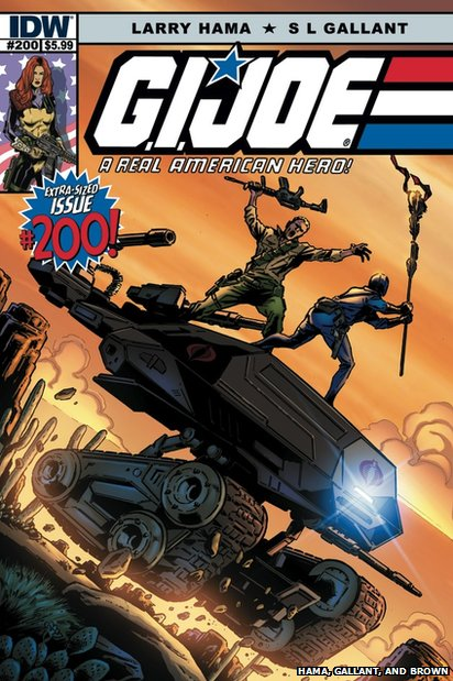 200th anniversary issue of GI Joe comic