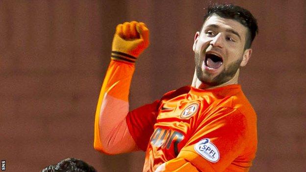 Dundee United striker Nadir Ciftci