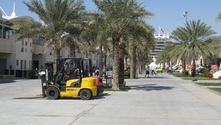 Bahrain paddock
