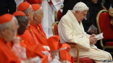 Former Pope Benedict XVI