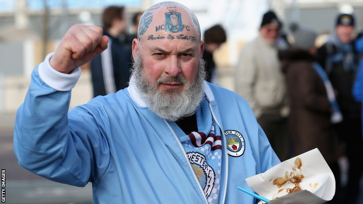 Manchester City supporter
