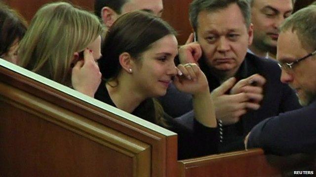 Yulia Tymoshenko's daughter Eugenia