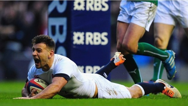 Bbc sport six nations 2014 england 13 10 ireland - English rugby union league tables ...