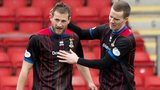 Gary Warren celebrates after scoring for Inverness against St Johnstone